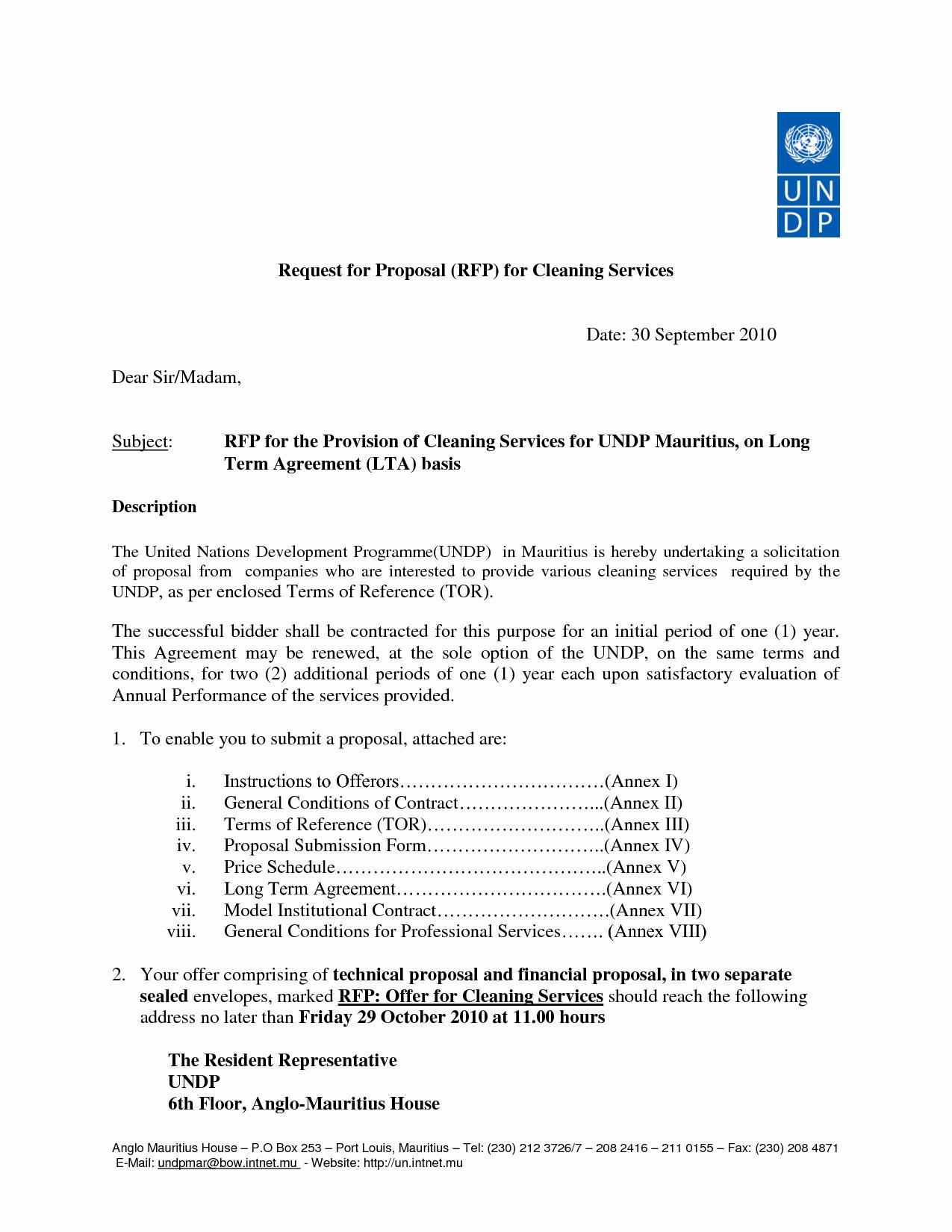 Cleaning Proposal Template Pdf Unique Scm350 Question