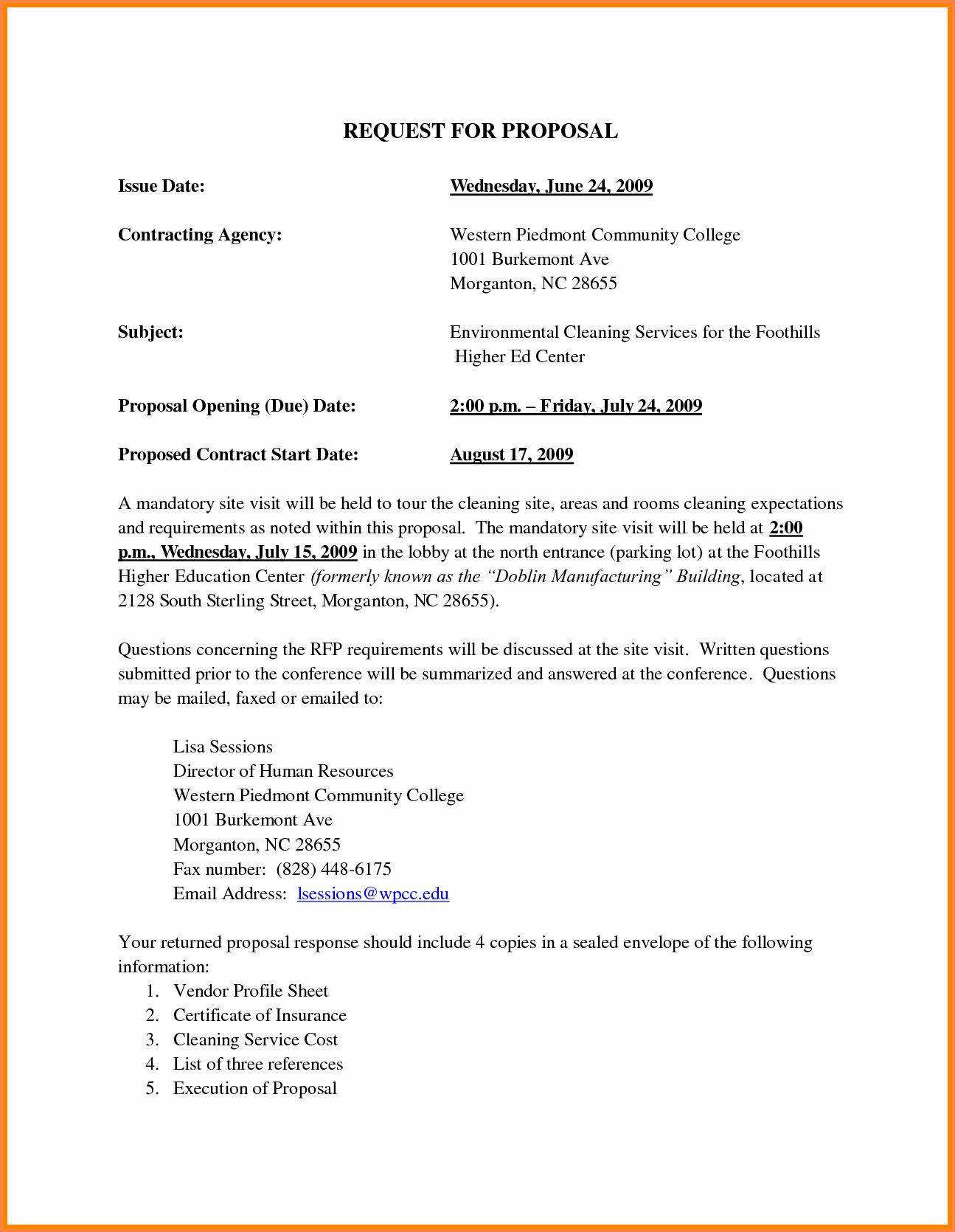 Cleaning Service Proposal Template Beautiful 13 How to Write A Business Proposal for A Cleaning