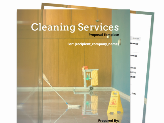 Cleaning Service Proposal Template Best Of Find Your Proposal Template