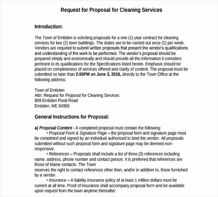 Cleaning Service Proposal Template Inspirational 12 Cleaning Proposals for Restaurants Cafes and