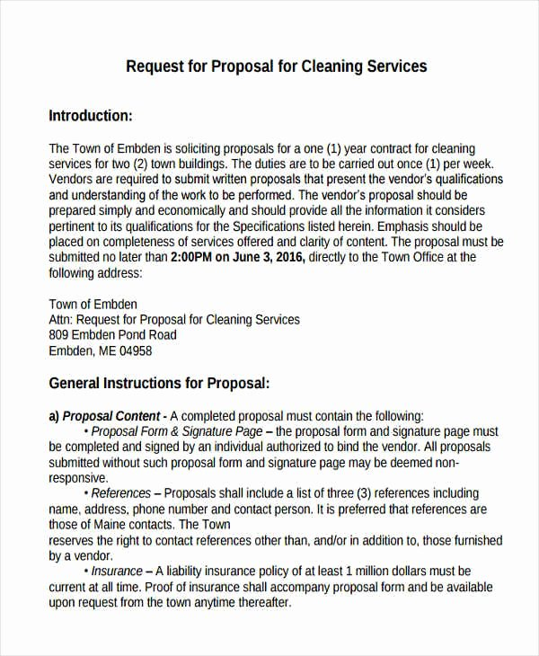 Cleaning Service Proposal Template Unique How to Open A Cleaning Service Business
