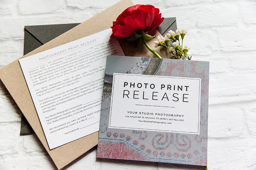 Client Print Release form Template Fresh Professional Graphy Print Release Template Design Aglow