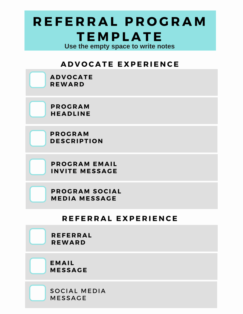 Client Referral form Template Inspirational Referral Program Template A Blueprint for Killer Conversions