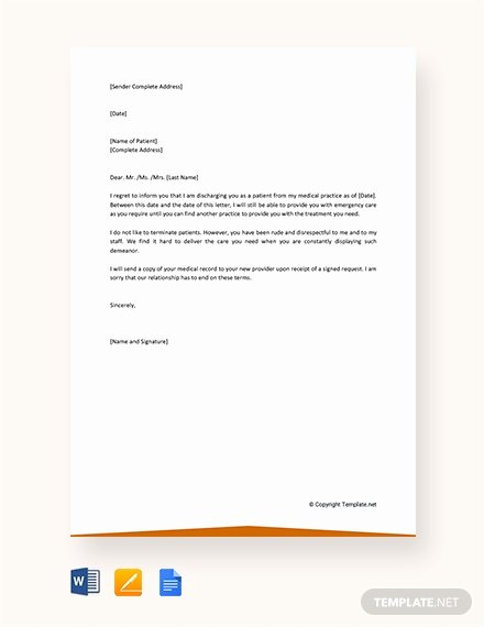 Client Termination Letter Template Luxury 40 Free Termination Letter Templates In Microsoft Word