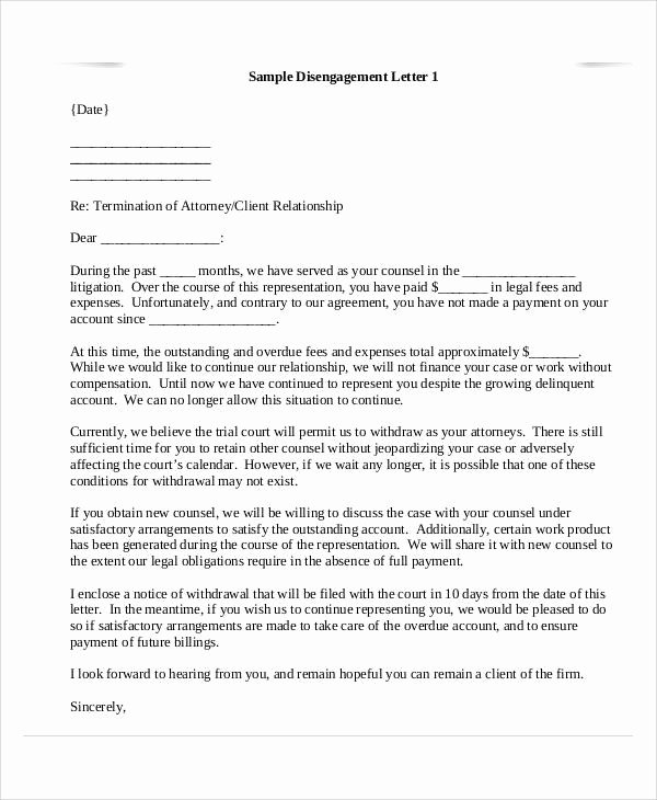 Client Termination Letter Template New 36 Examples Of Termination Letters