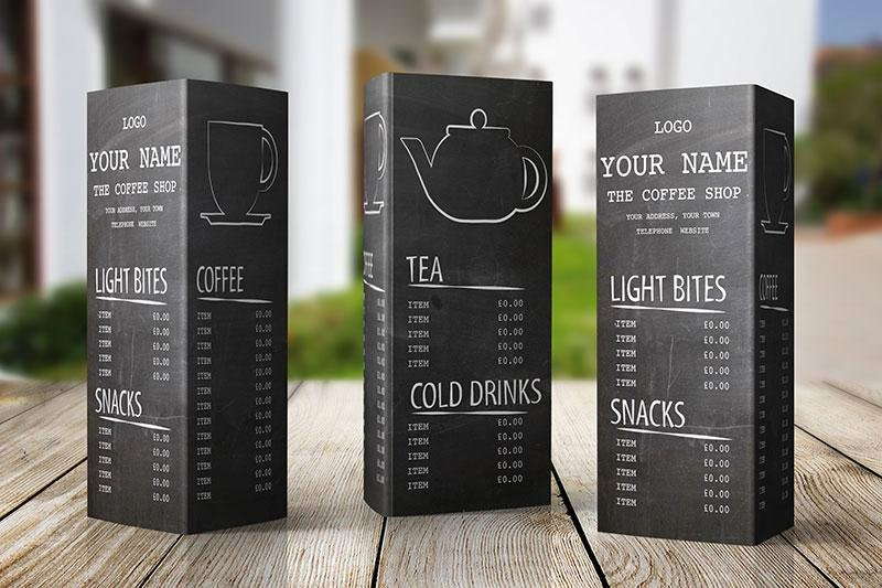 Coffee Shop Menu Template Best Of Free Menu Design Template