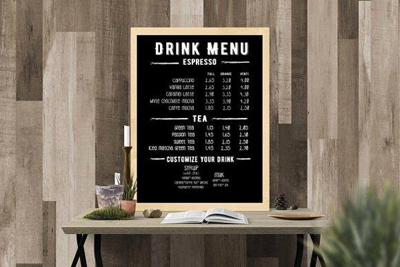 Coffee Shop Menu Template Lovely 15 Coffee Shop Menu Designs & Templates Psd Ai
