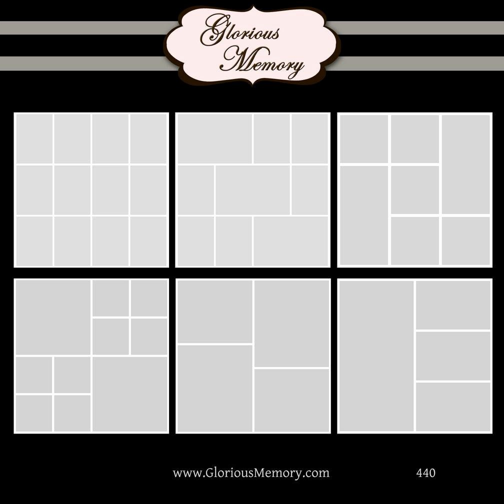 Collage Templates for Word Awesome Shop Collage Template