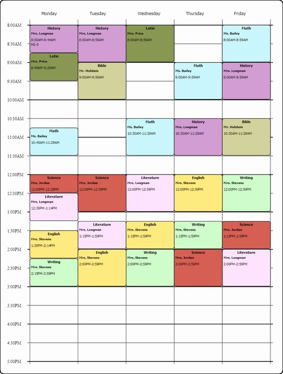 College Class Schedule Template Awesome College Schedule Schedule Maker and Templates On Pinterest