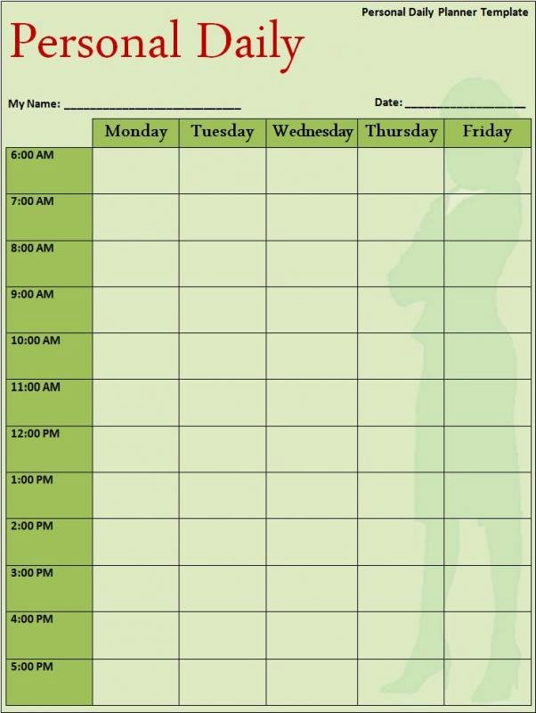 College Class Schedule Template Inspirational College Class Schedule Template