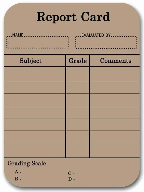 College Report Card Template Best Of Pin by Lisa Fischer On Discipleship
