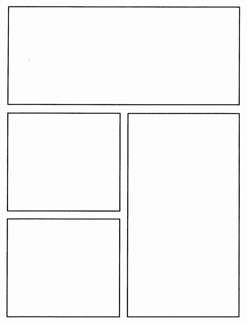 Comic Book Template Pdf Best Of Ic Book Template