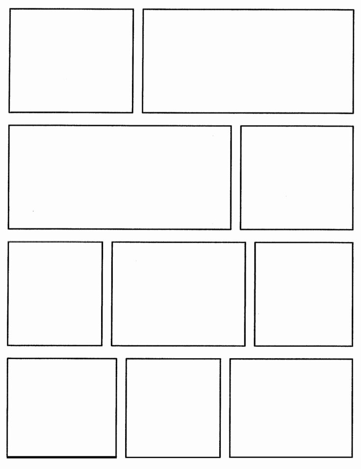 Comic Book Template Pdf Fresh Best 25 Ic Strip Template Ideas On Pinterest