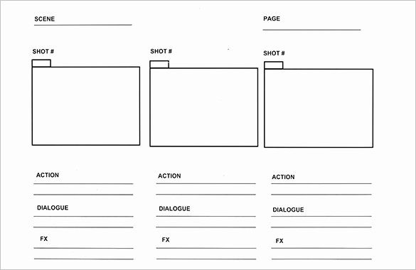Comic Book Template Pdf Inspirational 9 Ic Storyboard Templates Doc Pdf