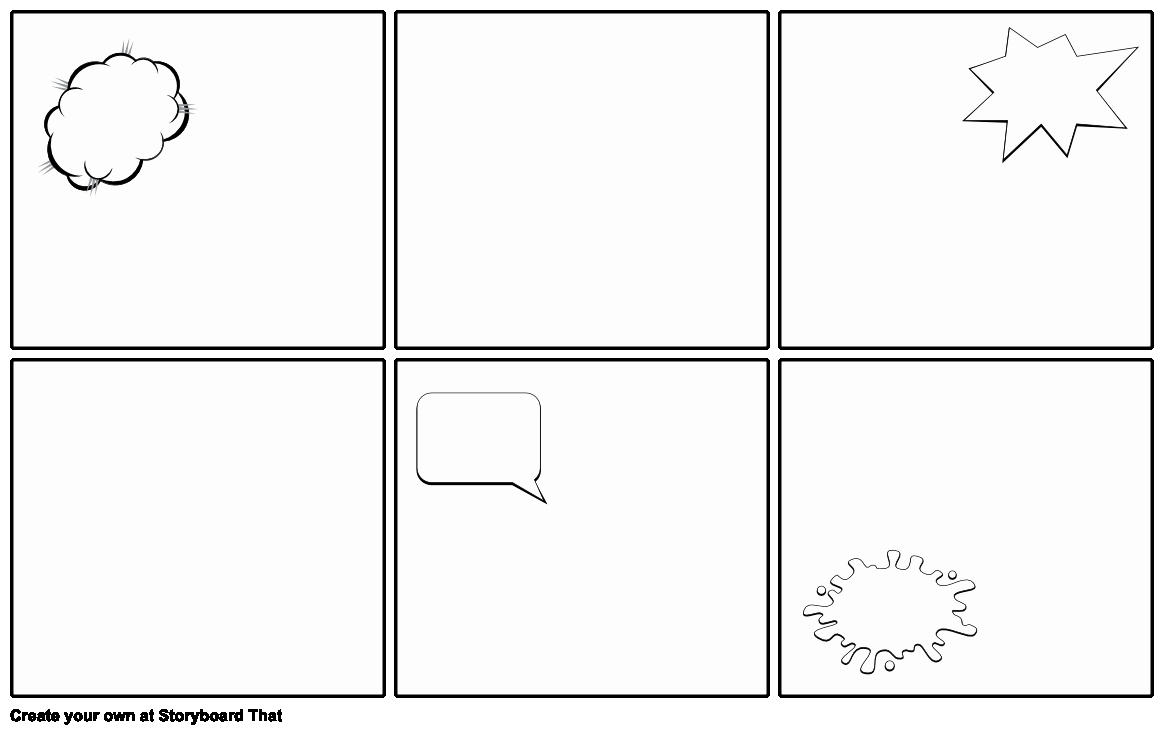 Comic Book Template Pdf Inspirational Blank Ic Strip Template Storyboard by Emily