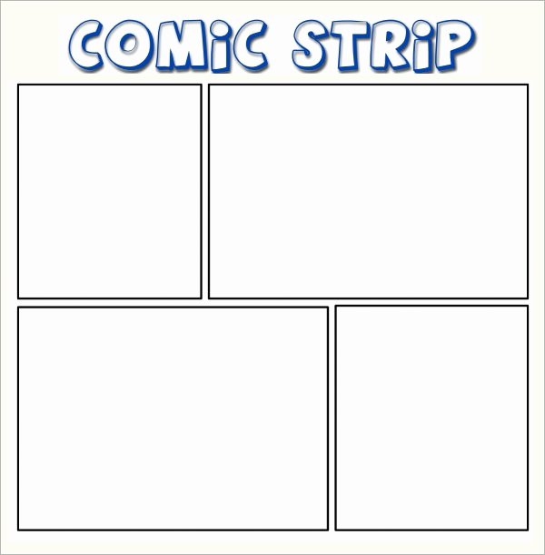 Comic Book Template Pdf Lovely Ic Strip Template 6 Download Free Documents In Pdf