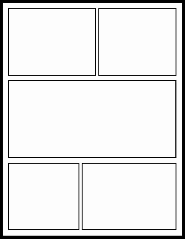 Comic Book Template Pdf Lovely Ic Strip Template for Students