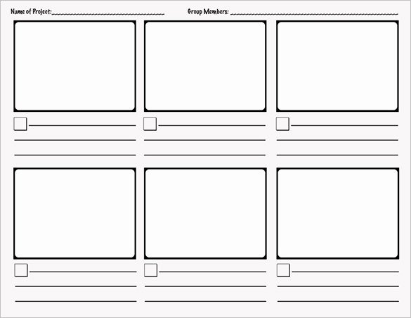 Comic Book Template Pdf New 9 Ic Storyboard Templates Doc Pdf