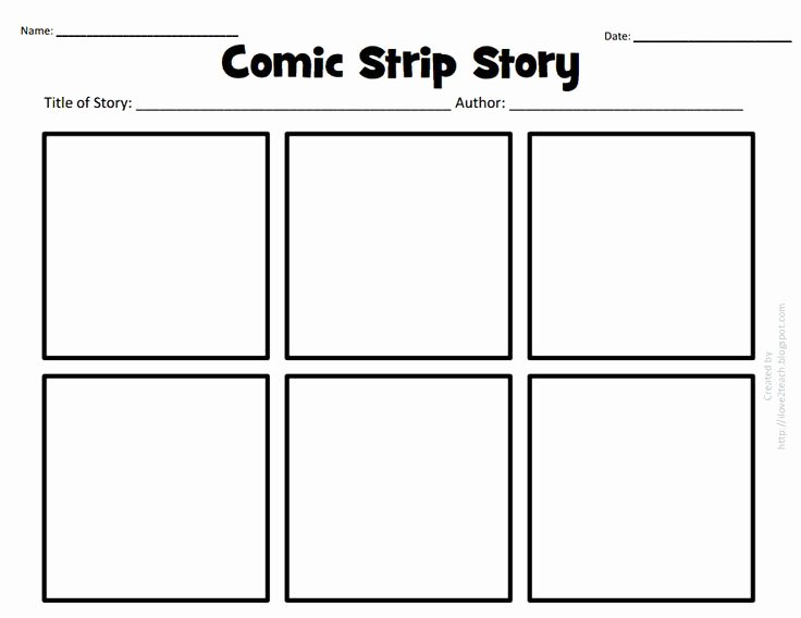 Comic Book Template Pdf New Ic Strip Story Pdf Google Drive