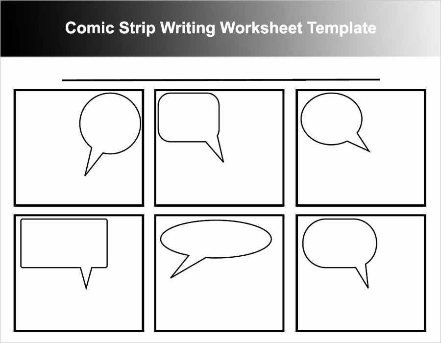 Comic Book Template Pdf Unique Ic Strip Template