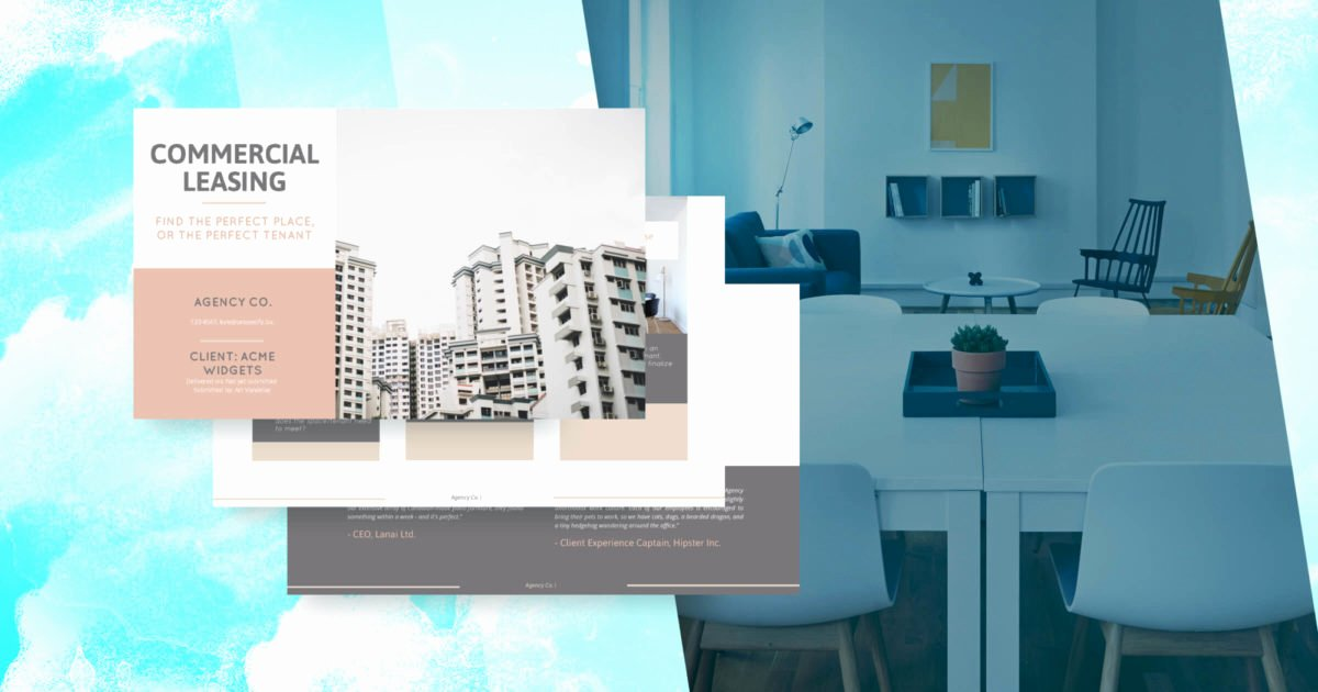 Commercial Lease Proposal Template Best Of Mercial Lease Proposal Template Free Sample