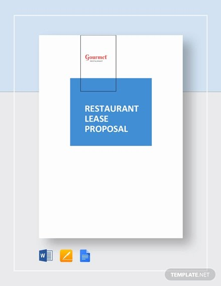 Commercial Lease Proposal Template New Lease Proposal Template 10 Free Word Pdf Documents