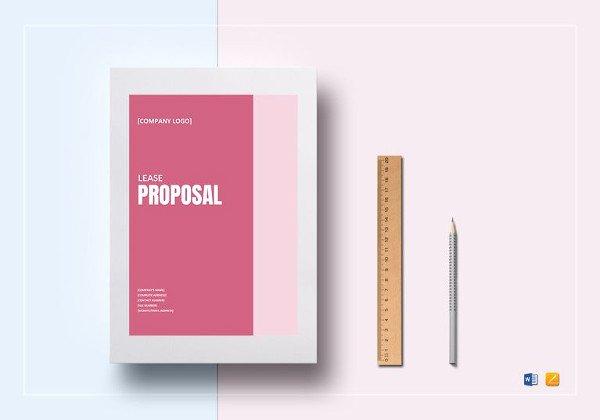 Commercial Lease Proposal Template Unique 18 Excel Proposal Templates Free Sample Example format