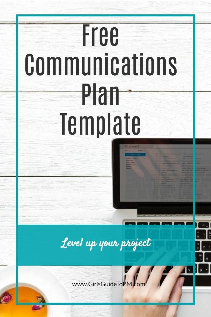 Communications Plan Template Word Elegant Free Munications Plan Template