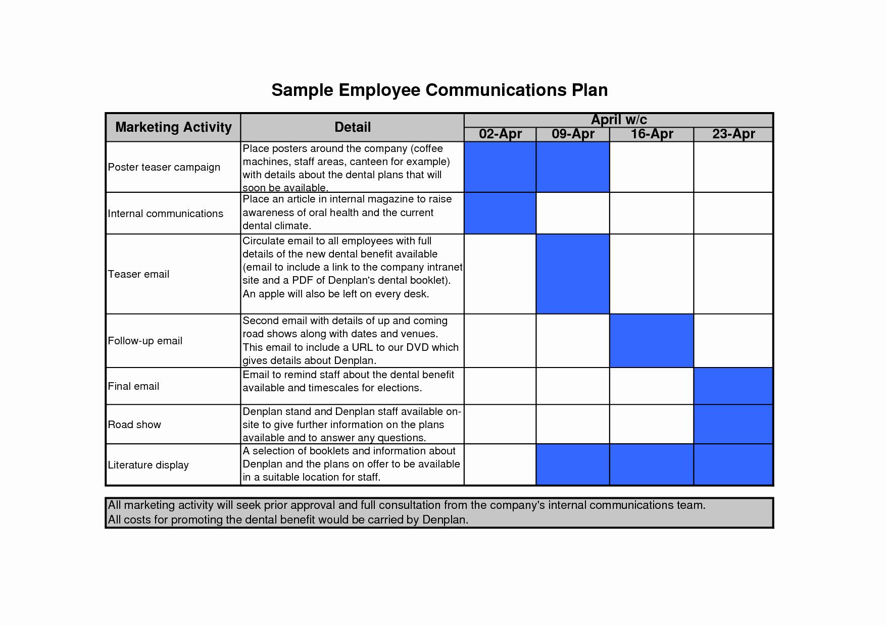 Communications Plan Template Word Fresh Munication Plan Template