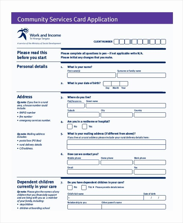 Community Service form Template Pdf Best Of Free 10 Sample Munity Service forms