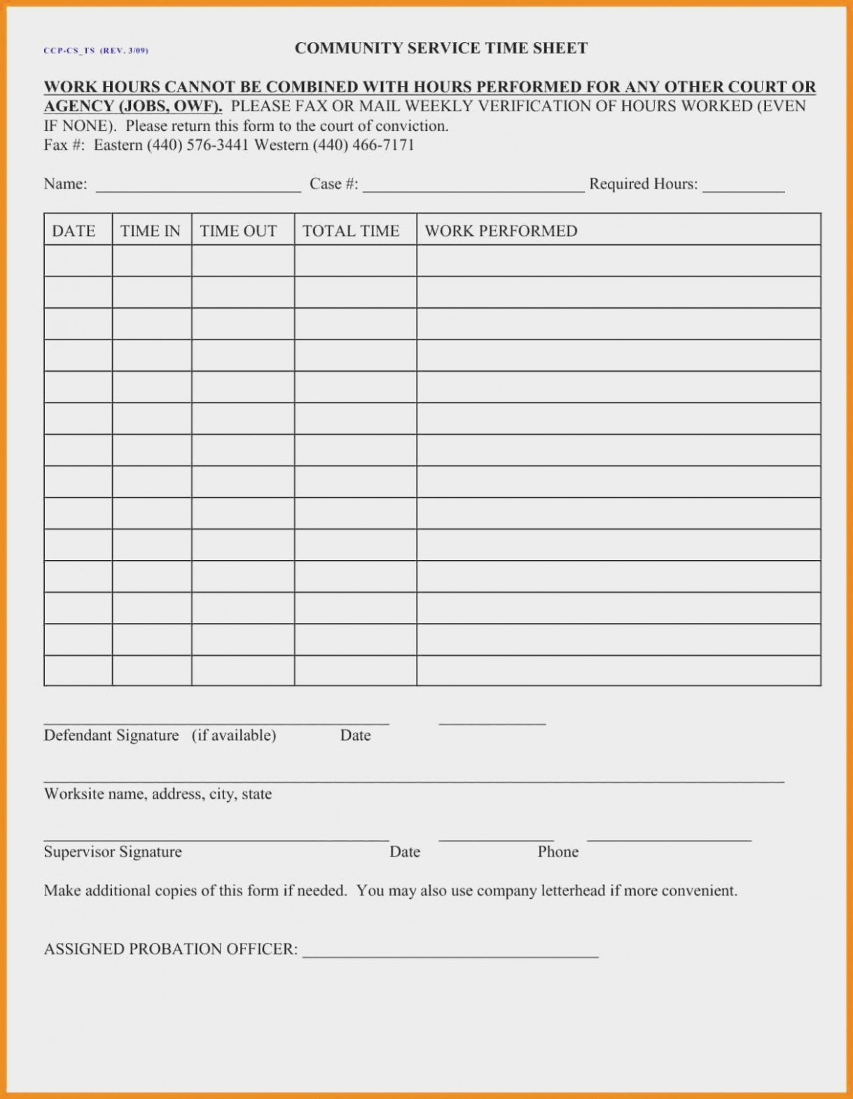 Community Service forms Templates New Ten Easy Ways to