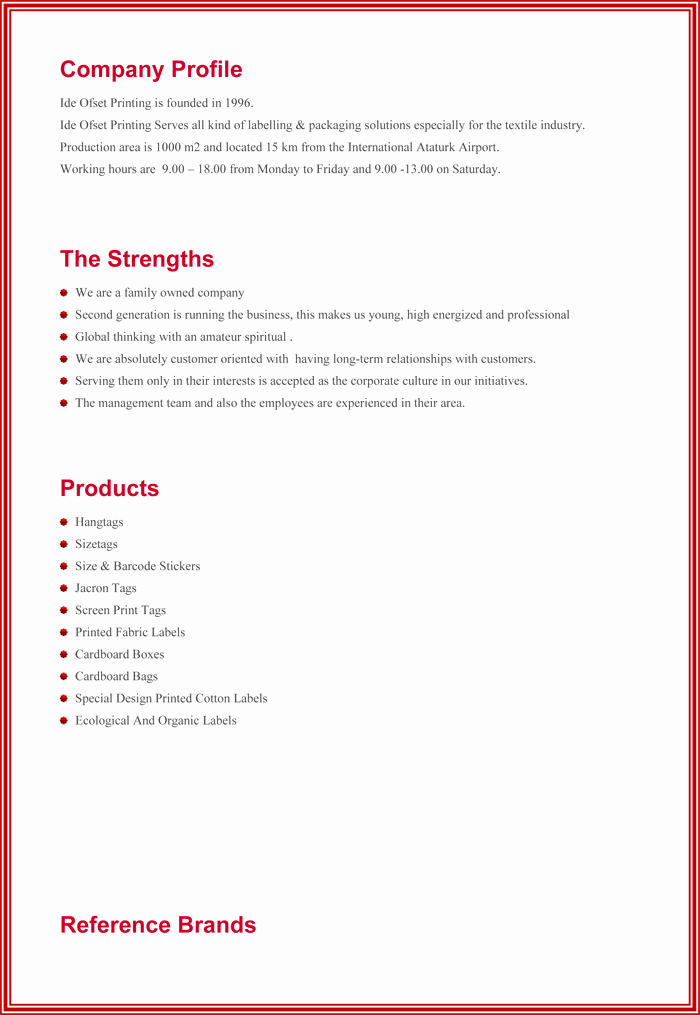 Company Profile Template Word Beautiful Pany Profile Sample Templates Create A Professional