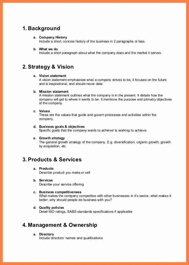 Company Profile Template Word Inspirational 5 Pany Description Template