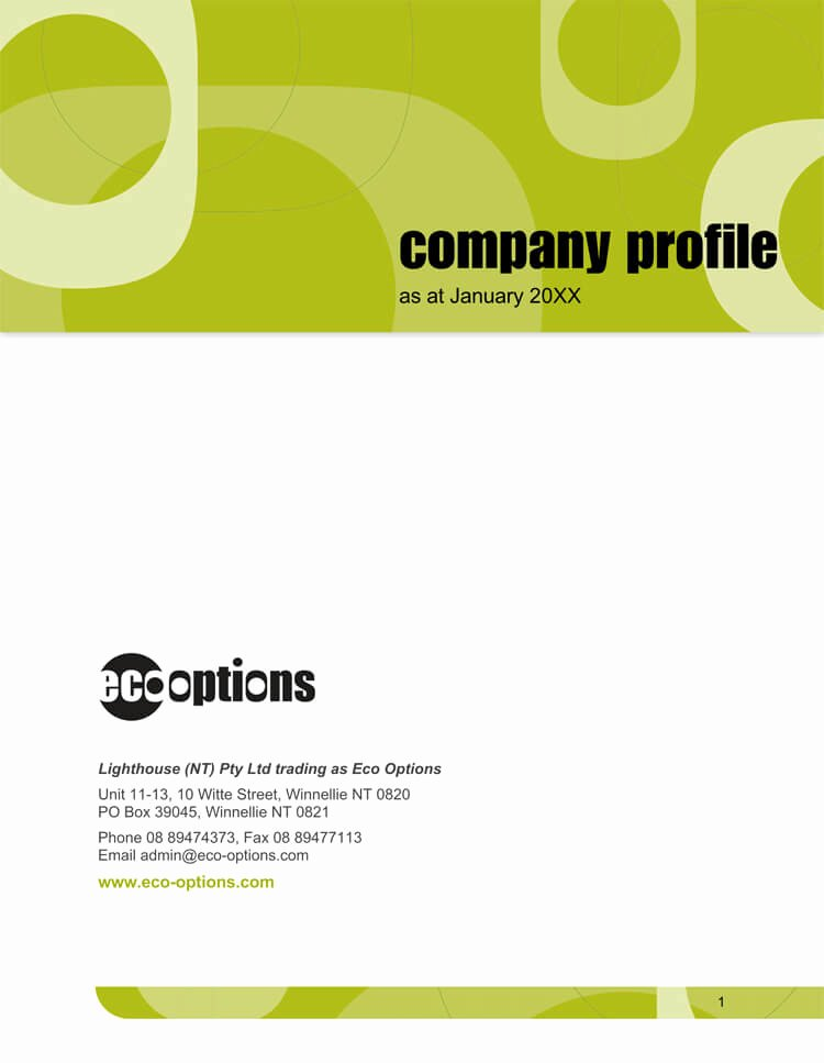 Company Profile Template Word Unique 20 Pany Business Profile Templates for Word