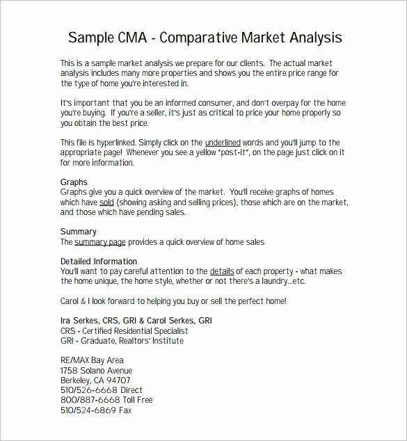 Comparative Market Analysis Template Beautiful 26 Analysis Templates Doc Pdf Excel Ai