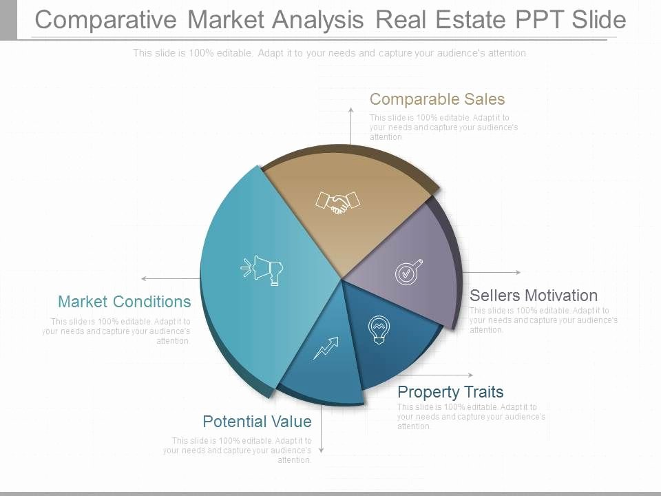 Comparative Market Analysis Template Best Of Parative Market Analysis Real Estate Ppt Slides
