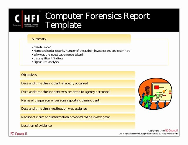 Computer forensic Report Template Beautiful File