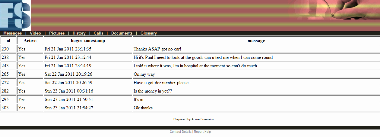 Computer forensic Report Template Fresh Example Reports Gallery for Sqlite forensic Reporter
