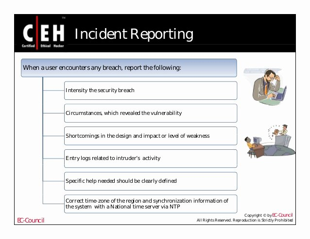 Computer forensic Report Template Inspirational Ce Hv6 Module 57 Puter forensics and Incident Handling
