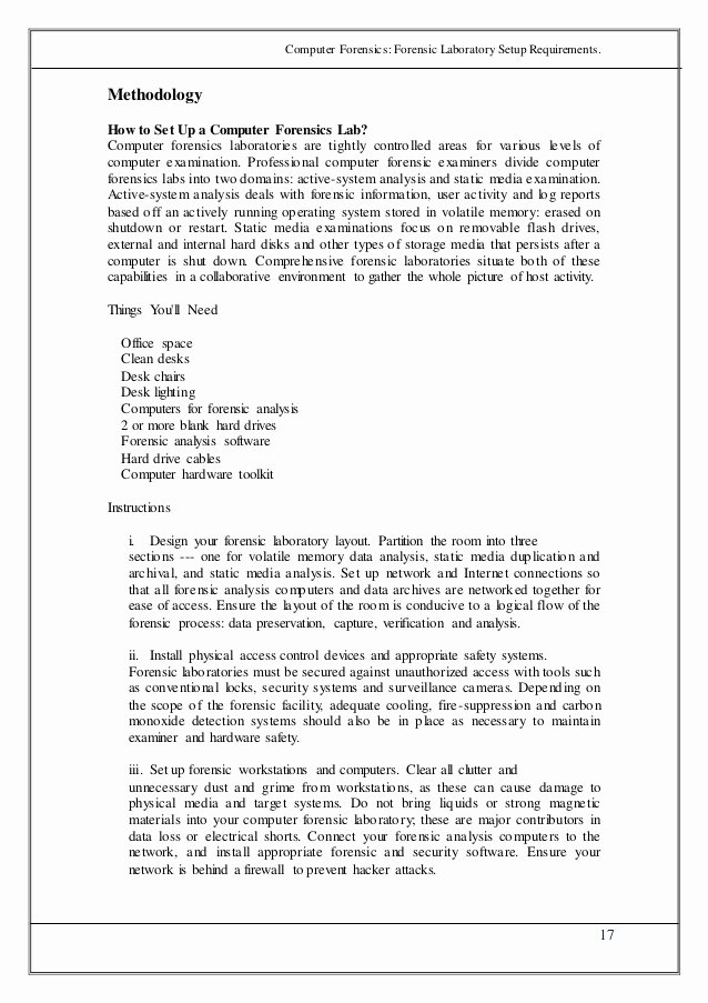 Computer forensic Report Template Inspirational Puter forensics Report Example Cover Letter Samples