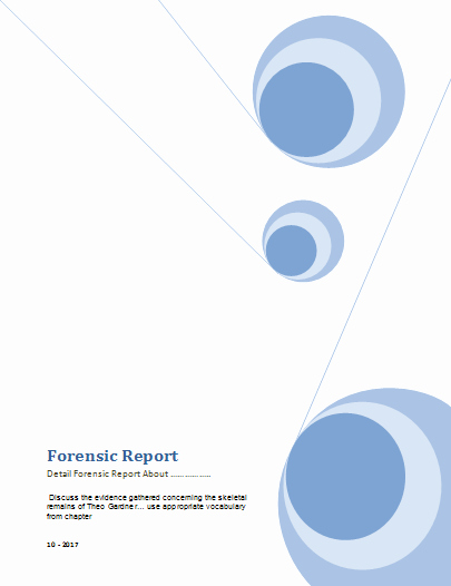 Computer forensic Report Template Lovely forensic Report Templates