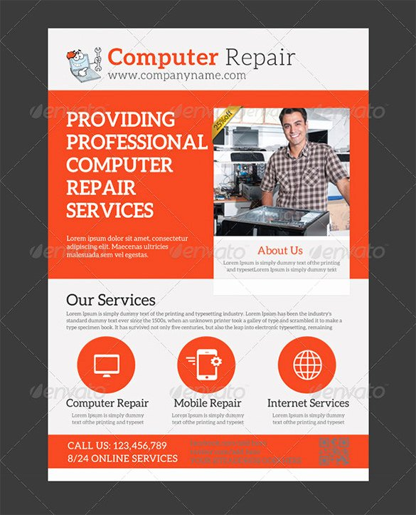 Computer Repair Flyer Template Best Of 26 Puter Repair Flyer Templates Psd Ai Eps format