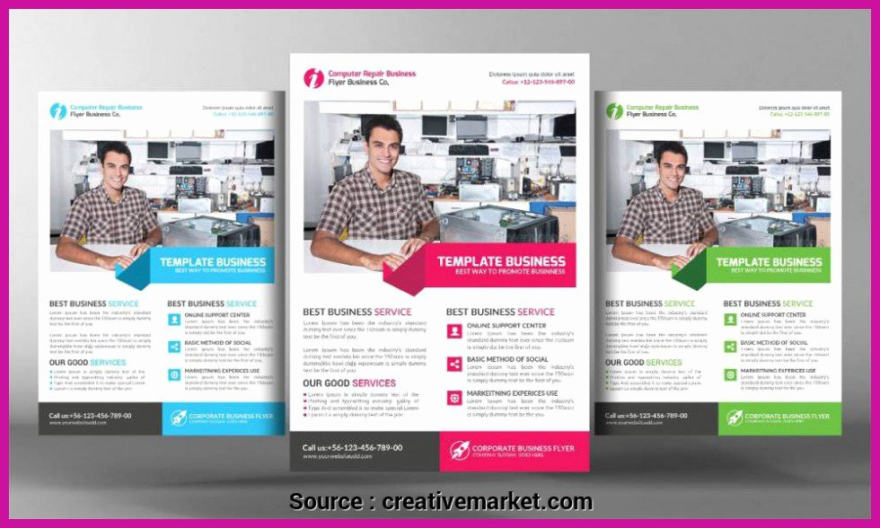 Computer Repair Flyer Template Luxury top Entries Puter Repair Business Flyer Templates