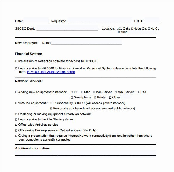 Computer Repair forms Template Best Of Sample Puter Service Request form 12 Download Free
