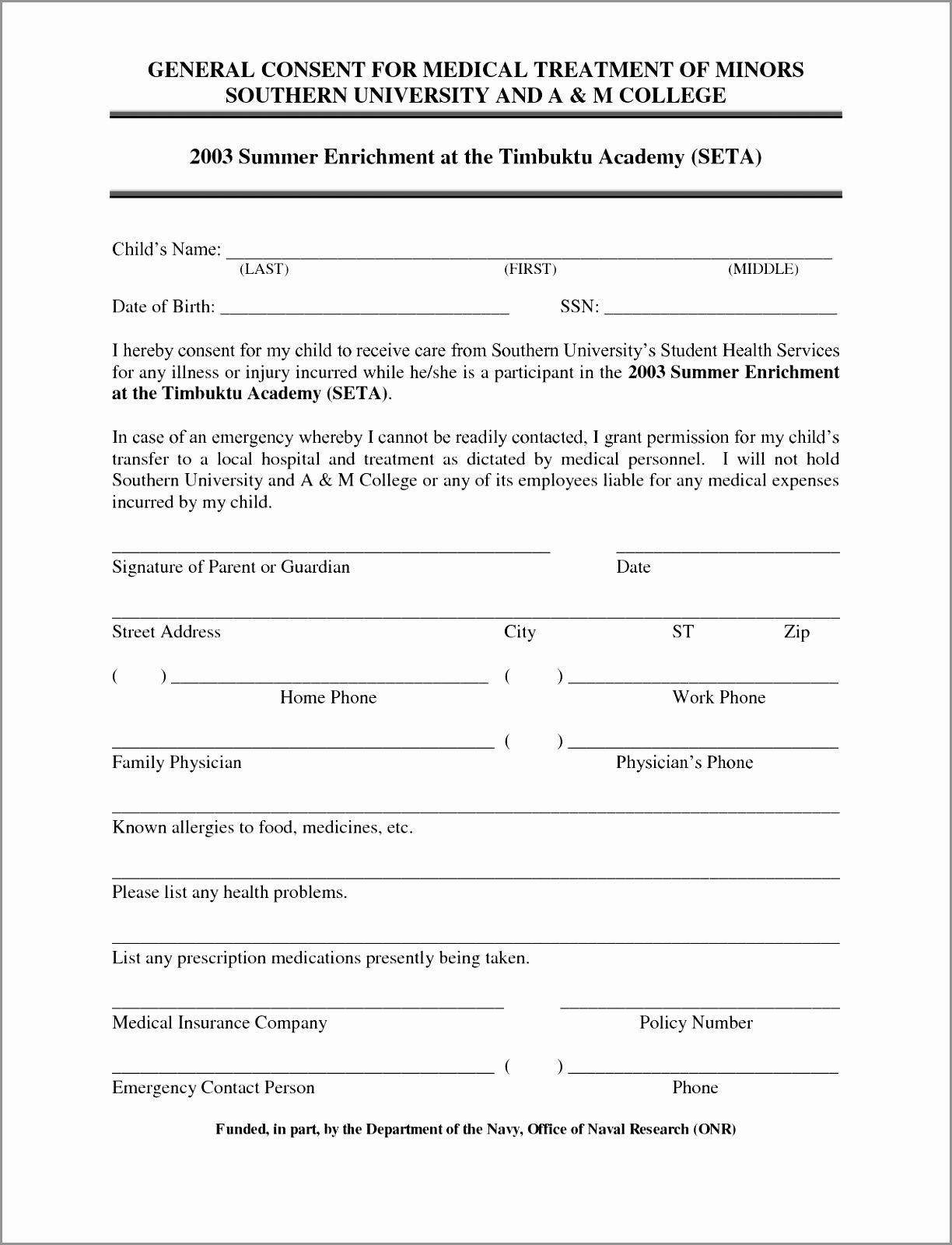 Consent to Treat form Template Best Of 9 General Consent form Template Yyriz