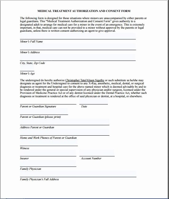 Consent to Treat form Template Fresh Medical Consultation form Template – Medical form Templates