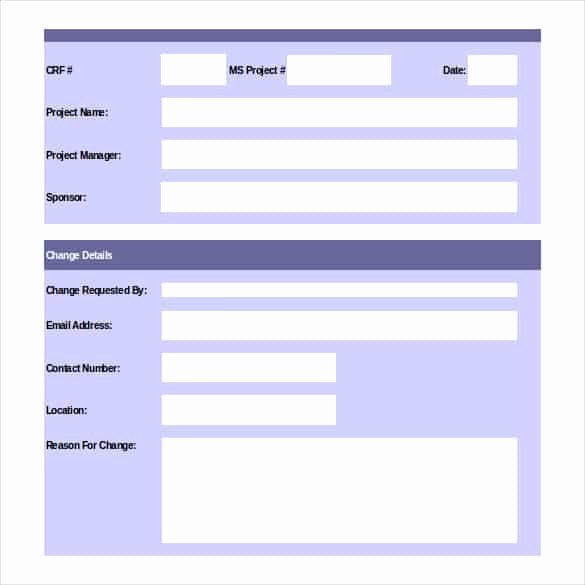 Construction Change order Template Word Beautiful 11 Change order Templates & forms Word Excel Fomats
