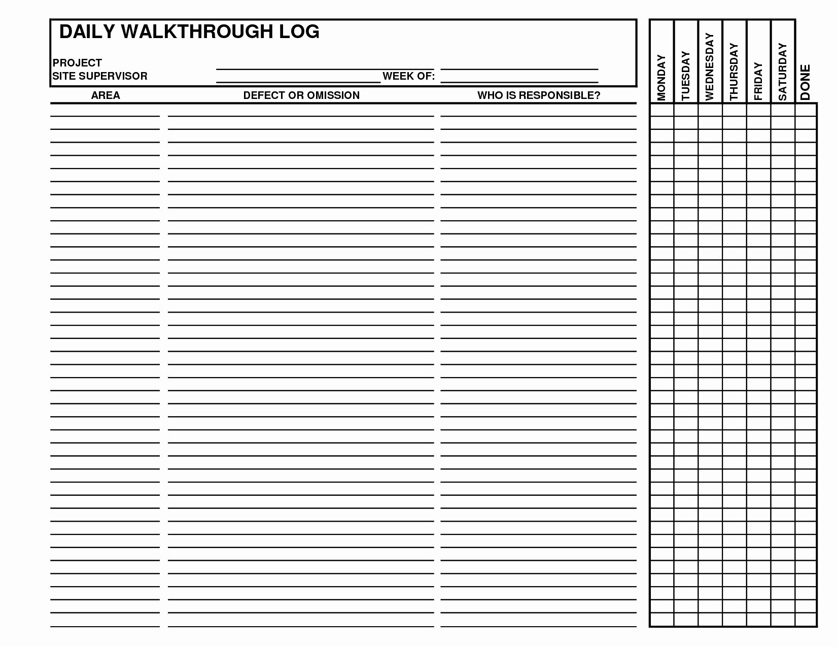 Construction Daily Log Template Beautiful Best S Of Daily Log Examples Daily Log Book