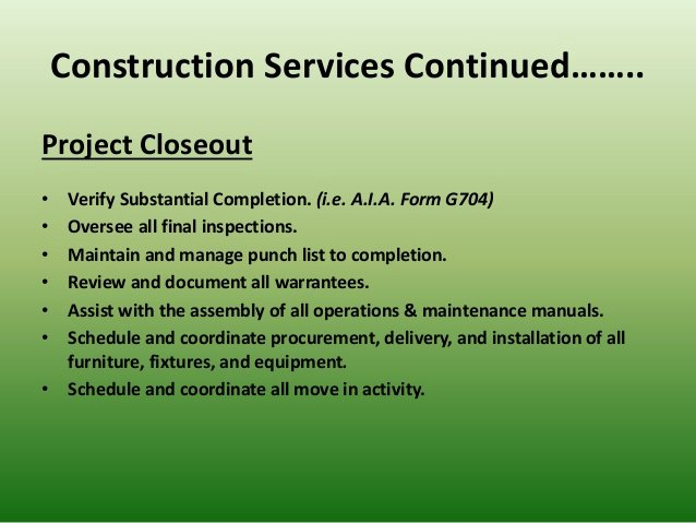 Construction Project Closeout Template Luxury Cjm Construction Consulting Powerpoint Presentation