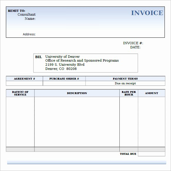 Consulting Invoice Template Word Awesome 10 Consulting Invoice Samples Word Pdf